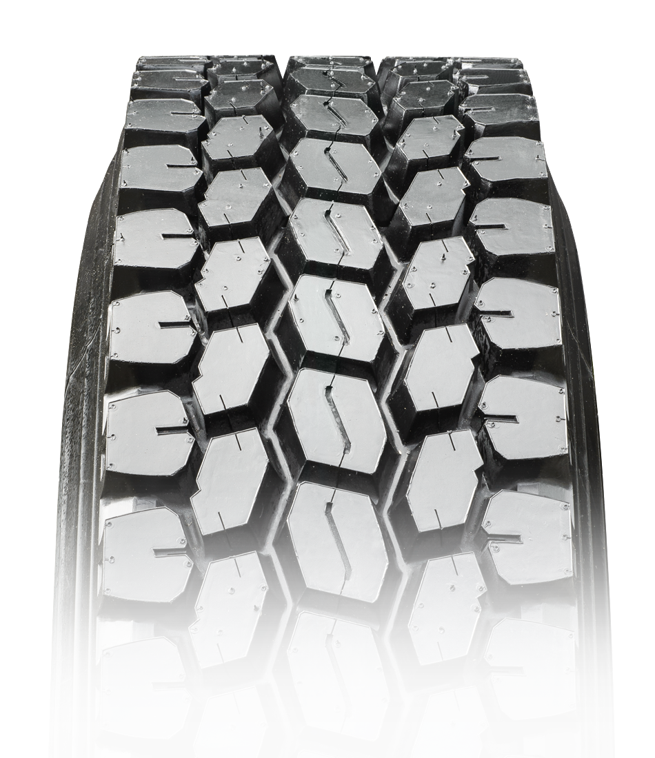 Commercial Truck Tires - BD177 Open Shoulder Tire